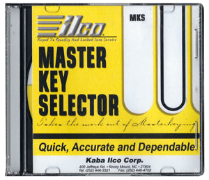 ILCO Master Key Selector Master Keying Software