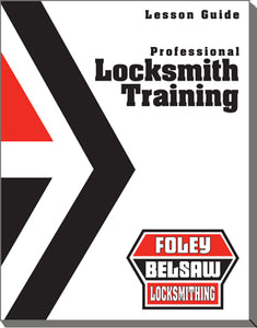Professional Locksmith Training Course Print Version Hard Copy