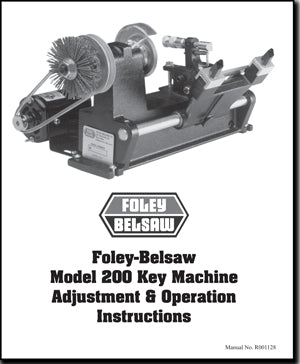 Model 200 Key Machine Manual