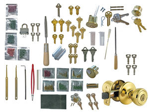 Basic Supply Package for Professional Locksmithing Course