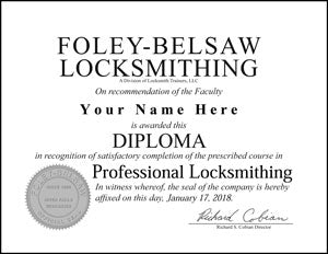 Diploma Hard Copy with Embossed Seal
