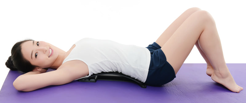Back massage and pain relief stretcher