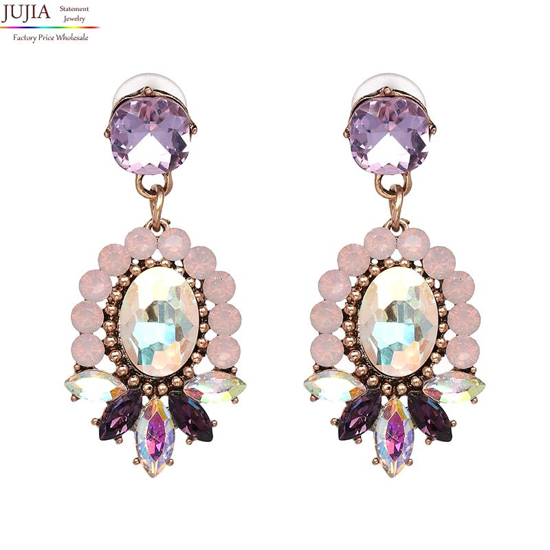 Amazing crystal vintage Earrings