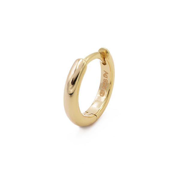 Ohrring Bella (12mm) - Gelbgold (vergoldet)