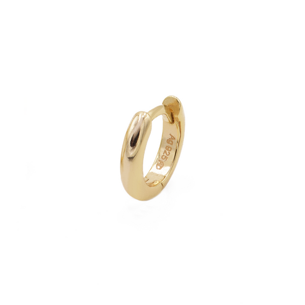 Ohrring Bella (10mm) - Gelbgold (vergoldet)