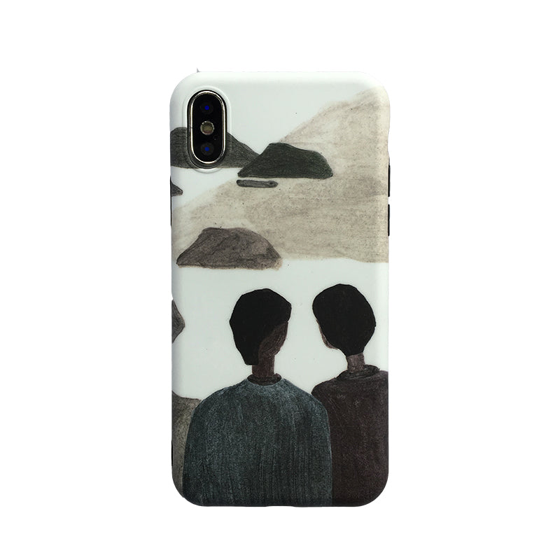 Nordic Profile iPhone Case