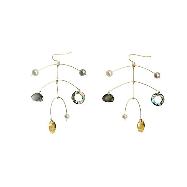 Ceramic Series - Calder 18k Earrings