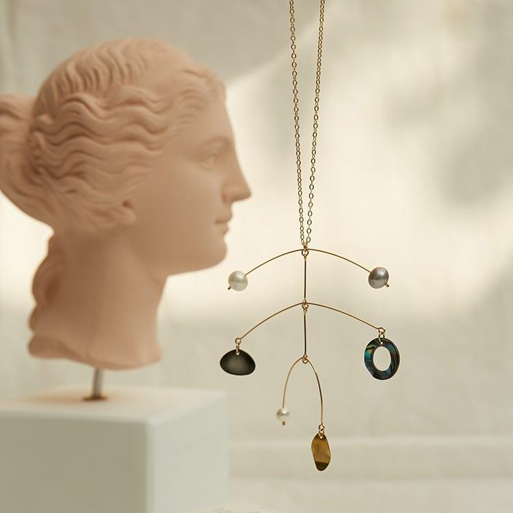 Ceramic Series - Calder 18k Necklace