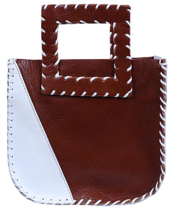 The Nwadi mini tote - brown