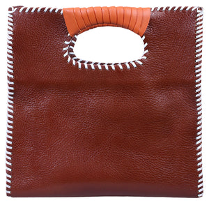 The Nkiru shopper tote - brown