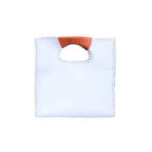 Load image into Gallery viewer, The Nkiru shopper tote - white
