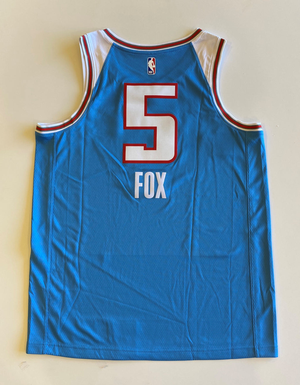 De'Aaron Fox SACTOWN Jersey . Inspired by Nike's Authentic jersey, Size 48, Blue