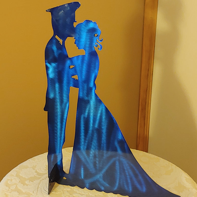 Officer Couple Centerpiece