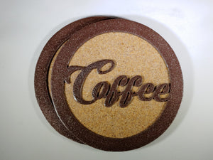 Steel Coaster - Coffee (Set of 6)