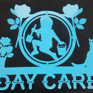 Daycare Sign Metal