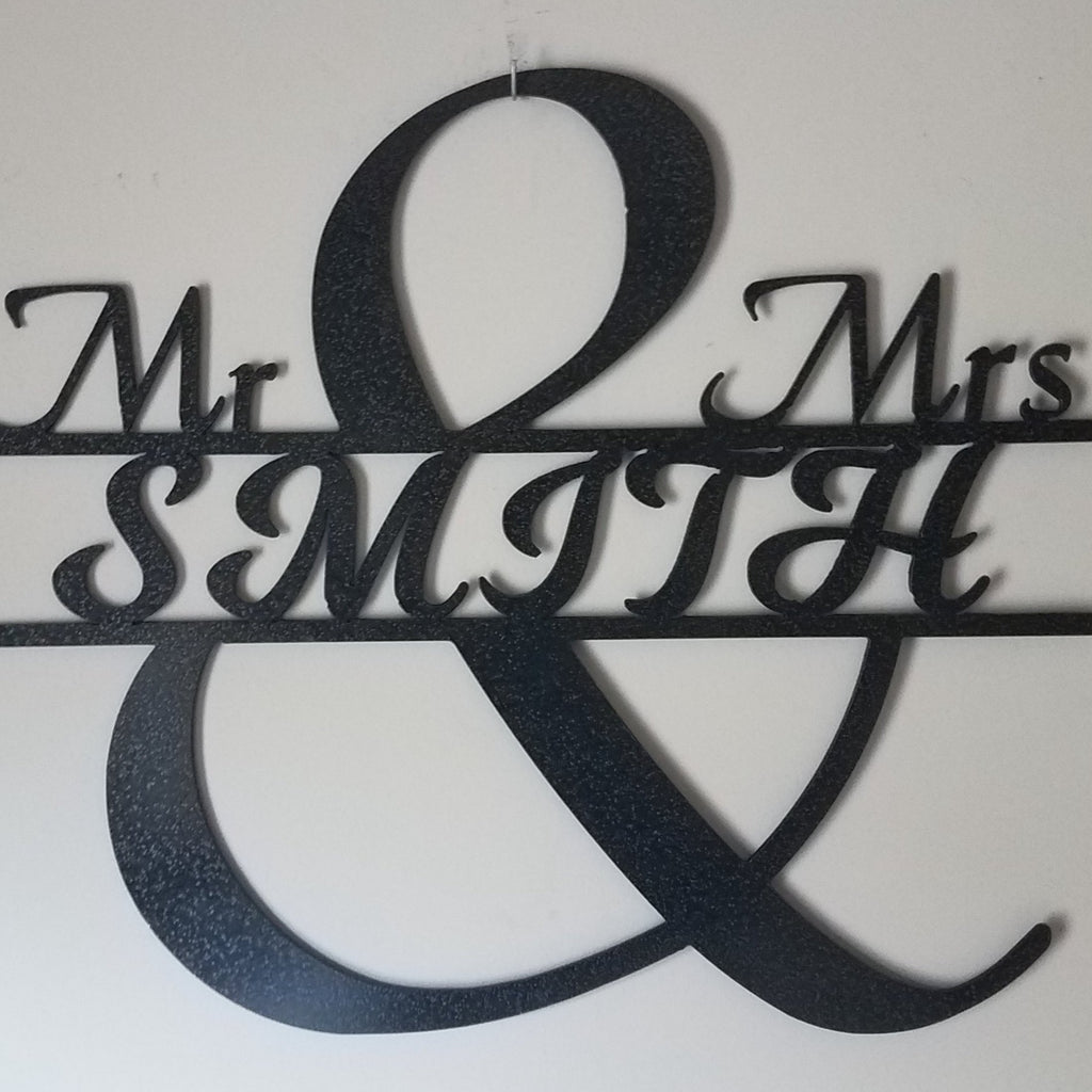 Mr & Mrs Centerpiece
