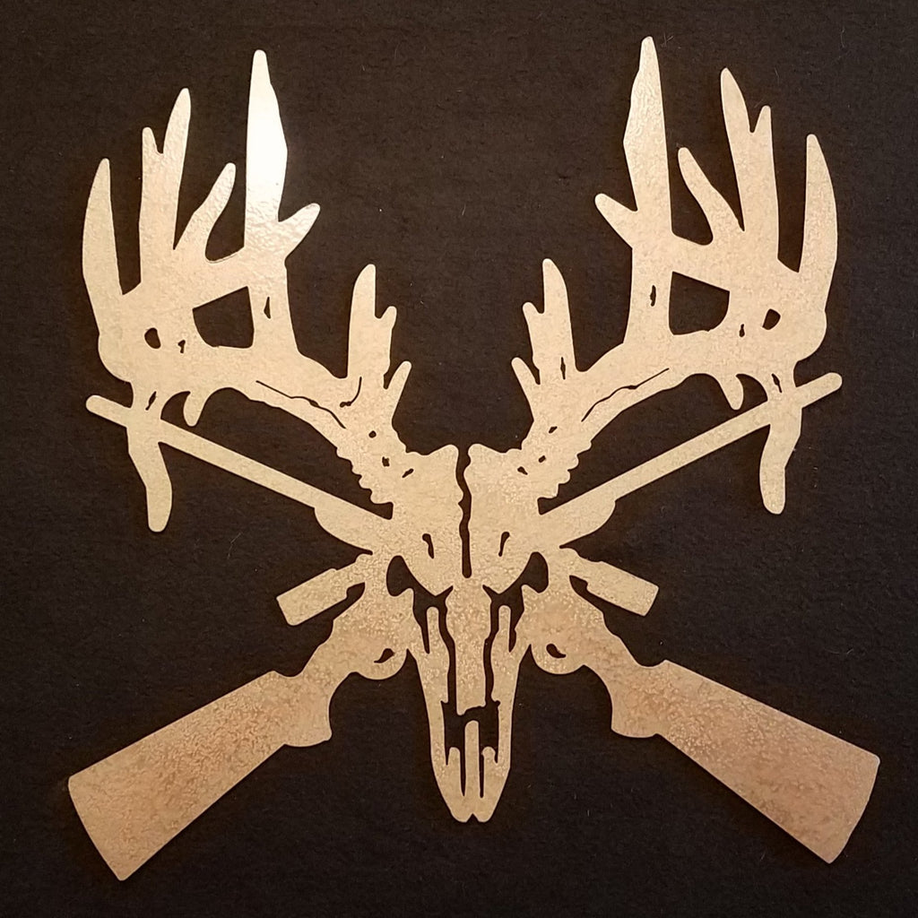 Buck Skull and Rifles