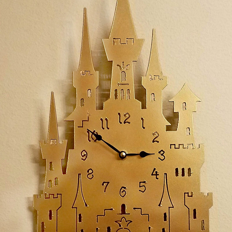 Castle Quartz Clock