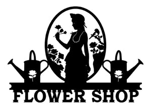Flower Shop Sign