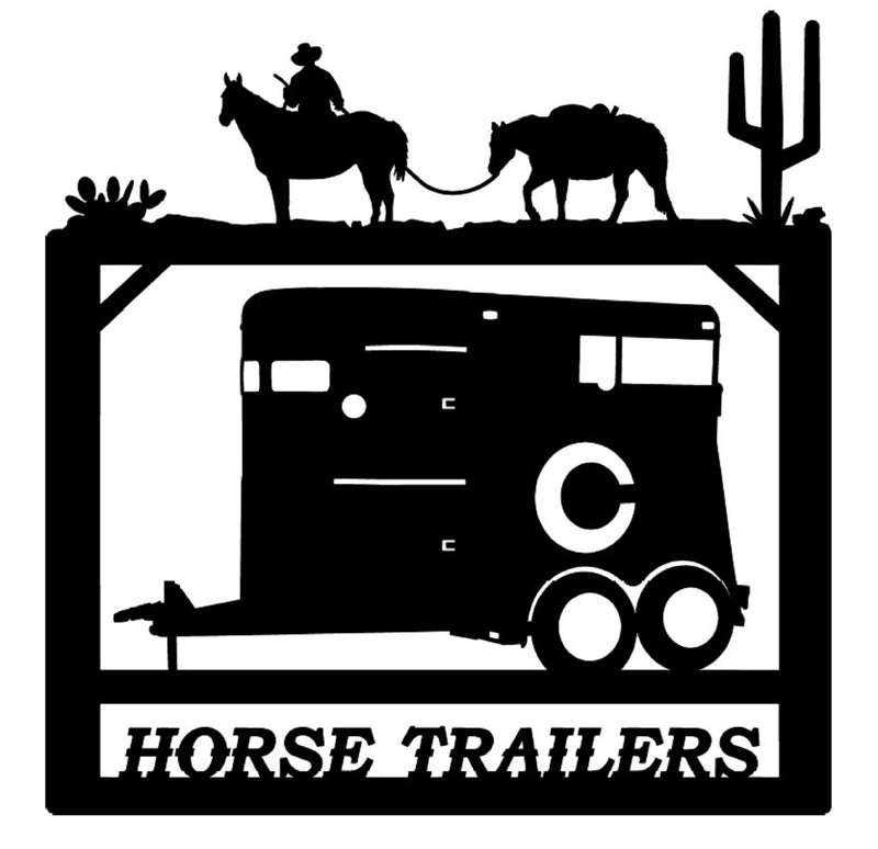 Horse Trailers Sign