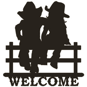 Country Kids Welcome Sign