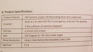 4k dashcam / vehicle blackbox by GTBOARD.com. FREE SHIPPING.