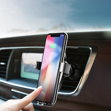 Wireless Charger Gravity Car Holder 10W for iPhone X and 8 Plus and Samsung Galaxy and Note