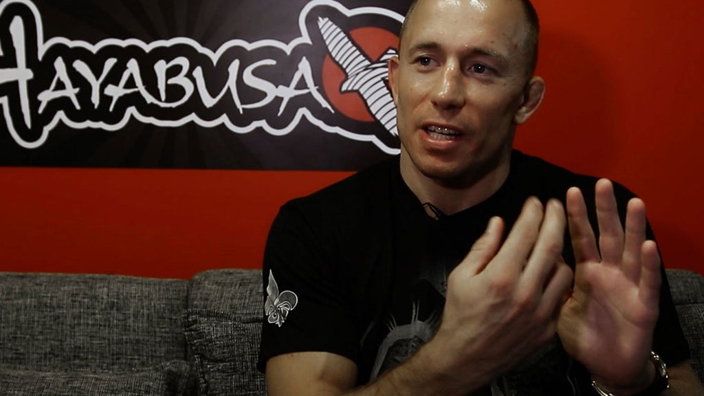 What Time Off From MMA Gave To Georges St-Pierre