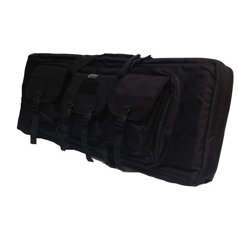 "36"" Double Rifle Case - Black"