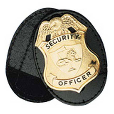 OVAL CLIP-ON BADGE W-VEL SWIV