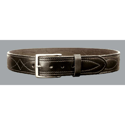 "1 3-4"" Fancy Stich Lined Belt"