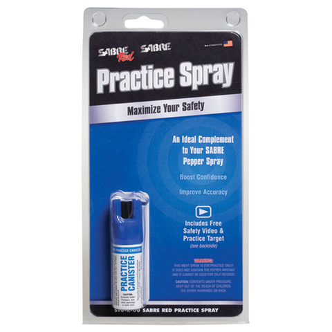 Practice Spray Canister