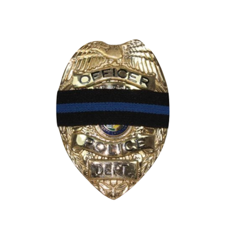 Blue Line Mourning Band