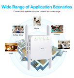 Viyado WiFi Long Range Extender Wireless Repeater Booster Amplifier Signal Access Point