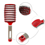 Viyado  Women Wet Comb Hair Brush Professional Salon Tools.