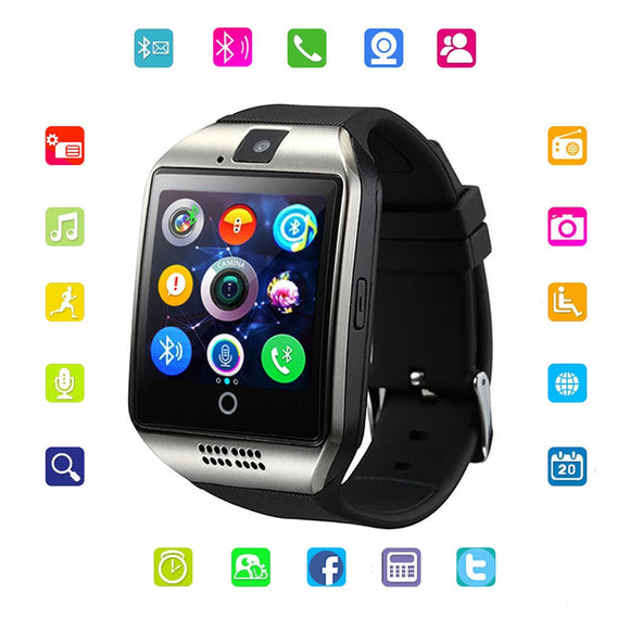 Viyado Bluetooth Smartwatch With Camera SIM TF Card Slot Fitness Activity Tracker For Android