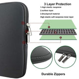 Viyado Laptop Protective Case Sleeve Computer Pocket For Notebook Macbook Pro Air Carry