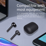 Viyado Wireless Bluetooth Earphone Stereo Earbuds Headset With Charging Box Built In Microphone