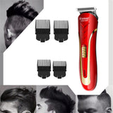 Viyado Carbon Steel Head Hair Trimmer Rechargeable Electric Razor Beard Shaver Clipper