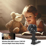 Viyado Mini WiFi Camera Wireless Sensor Monitor Home Security Night Vision Network