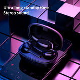 Viyado T9S TWS 5.0 Bluetooth Earphone Wireless Earbuds Stereo Sound In-ear Headset Led Display HD Call Headphones
