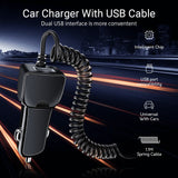Viyado Car Charger Type-C Fast Quick Cable USB