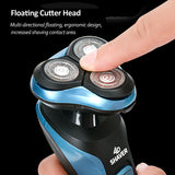 Viyado Electric Shaver Machine USB Charging 3D Triple Floating Blade Heads Shaving Razors
