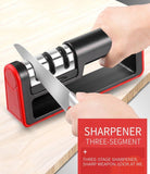 Viyado Knife Sharpener 1PC  Stages Kitchen Stone Tungsten and Ceramic Knives Accessories