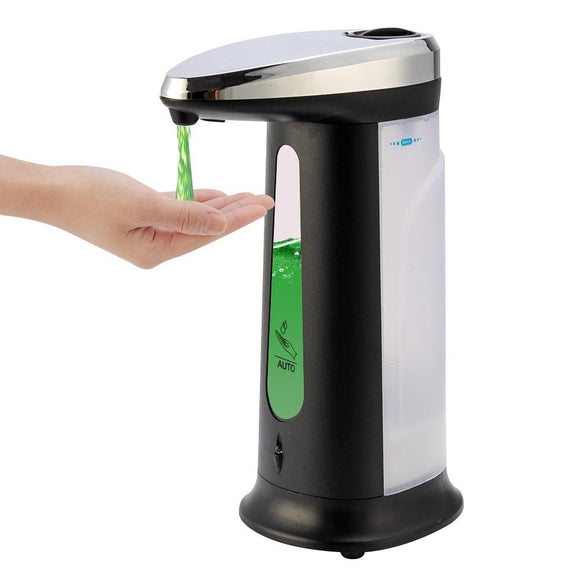 Viyado Touchless Liquid Soap Dispenser Sensor Automatic Pump For Bathroom Kitchen
