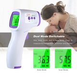 Viyado Electronic Thermometer Non-Contact Temperature Meter for Children/adult With Fever Alarm