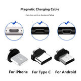 Viyado Magnetic Cable Micro USB Type C Fast Charging Cable For iPhone Xiaomi Android Phone Charger Magnet USB Wire Cord
