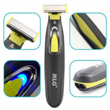 Viyado Rechargeable Electric Shaver Beard Razor Body Trimmer  Shaving Machine Hair Face Care Cleaning