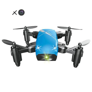 Viyado Mini Drone with Camera HD Foldable  FPV Micro Pocket  Aircraft Toys for Kids