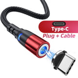 Viyado Magnetic Cable For Phone Charger Type C  Micro USB Magnet Charge Cable  Magnetic Charging Cord